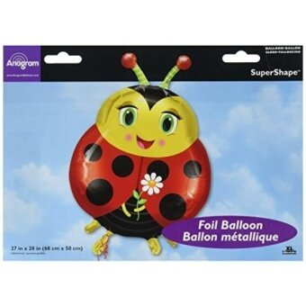 Anagram International 2601201 Cute Ladybug Balloon Pack  27 - intl