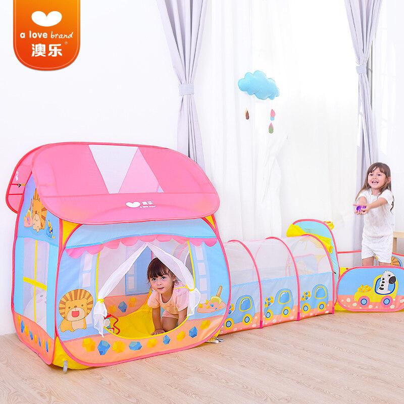 AOLE-HW บ้านของเล่นเด็กเสริมสร้างจินตนาการ