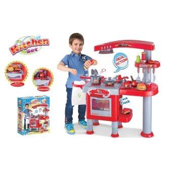 ASIA TOY ของเล่นเด็ก ชุดเครื่องครัวแฮมเบอร์เกอร์ (สีแดง) - 2