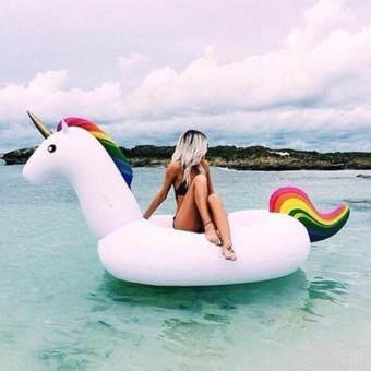Atrix ห่วงยางยูนิคอร์น ขนาดใหญ่พิเศษ Unicorn Swimming Pool Inflatable Float Raft Size XL แพยางเป่าลม เรือยาง รุ่น KDS-0005