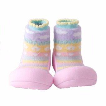 Attipas รองเท้าหัดเดิน (Attibebe Pink) - Size M