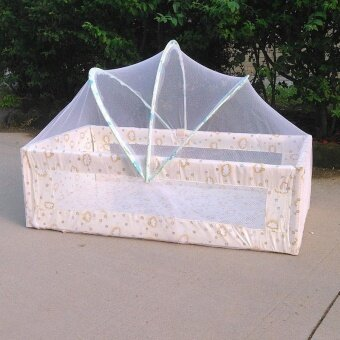Baby Bed Tent Infant Canopy Folding Anti Mosquito Net Toddlers CotNetting - intl - 4