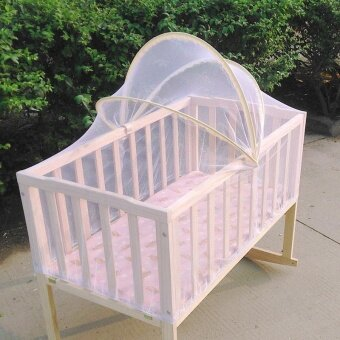 Baby Bed Tent Infant Canopy Folding Anti Mosquito Net Toddlers CotNetting - intl - 3