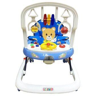 BABY CHAMP WALKER เบบี้ แชมป์ รถช่วยพยุงตัวเด็กปรับระดับ - สีน้ำเงิน