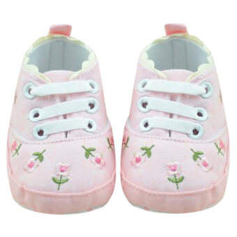 Baby Girls Soft Sole Shoes (Pink) - intl