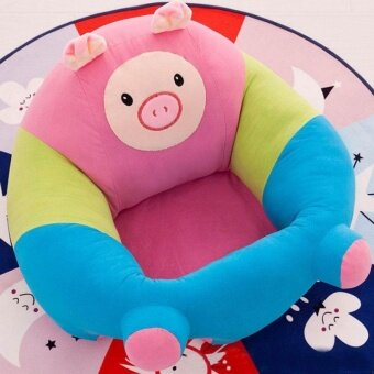 Harga Baby School Chair Baby Safety Sofa New Exotic Plush Toys PuzzleGift - intl