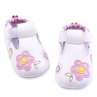 Harga Baby Shoes Baby Toddler Circle Bottom Baby Shoes 1072 Pink - intl
