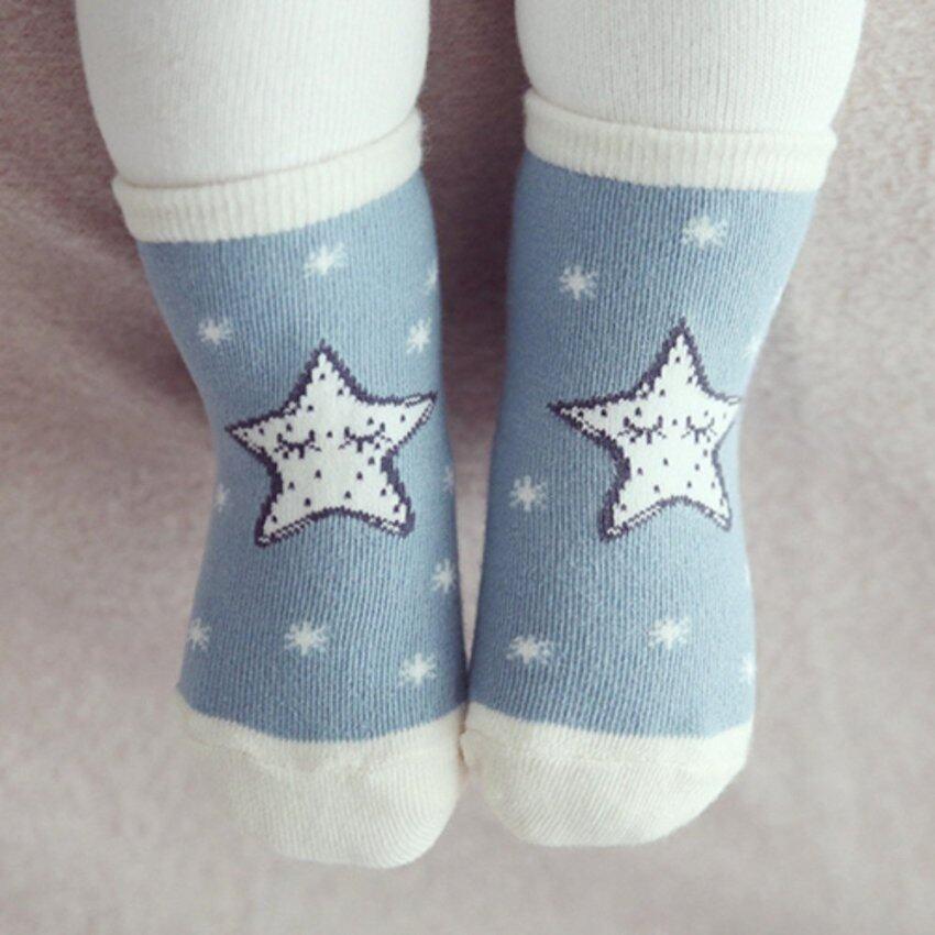 Baby Touch ถุงเท้าเด็ก สั้นหนา ฟูจิซัง (ดาว)