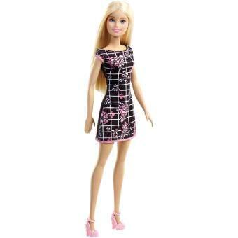 Barbie® Doll - Barbie Floral Art on Black Dress