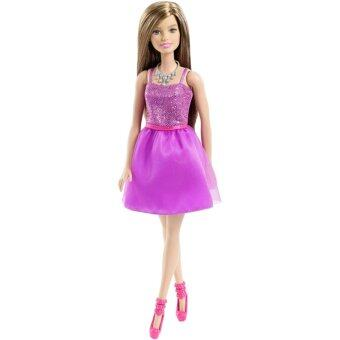 Harga Barbie Glitz Doll, Purple Dress