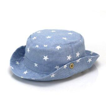 Bear Fashion Spring Summer Baby Girls Boys Infant Sun ProtectionStar Hats Newborn Caps - intl