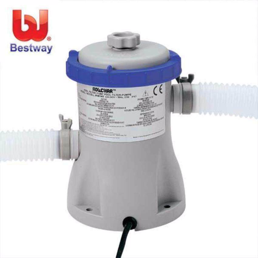 Bestway เครื่องกรองน้ำระบบไส้กรอง 2,006 ลิตร/ชม. (สระ 8-12 ฟุต) รุ่น 58381 image