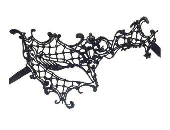 Bigood Venetian Black Lace Masquerade Christmas Party Masks forWomen Single Eye - intl