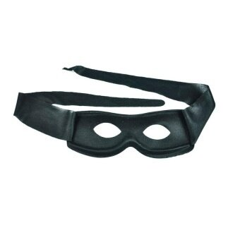 Black Cotton Cloth Zorro Ninja Mask For Costume Theme Partymasquerade Halloween - intl