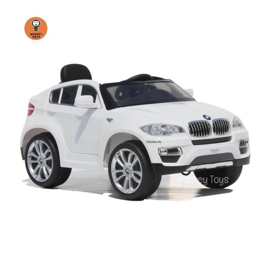 BMW รถเก๋งเด็กไฟฟ้า รุ่น BMW X6 (Licensed) สีขาว
