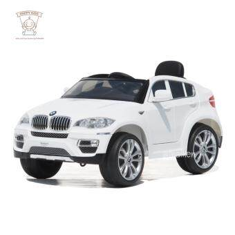 BMW รถเก๋งเด็กไฟฟ้า รุ่น BMW X6 (Licensed) สีขาว JJ258