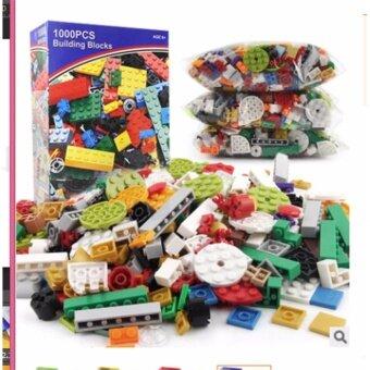 เลโก้ Bricks 1000 ชิ้น DIY Building lego BLOCK รุ่น Blue box (หลากสี)