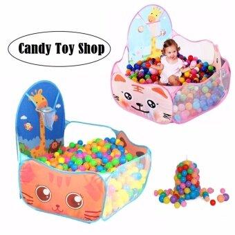 Candy Toy บ้านบอลพร้อมเเป้นบาส
