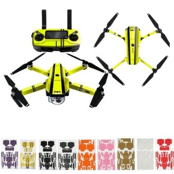 Carbon Fiber Sticker Decal Skin Protector Cover For DJI Mavic Pro Drone Wrap US - intl