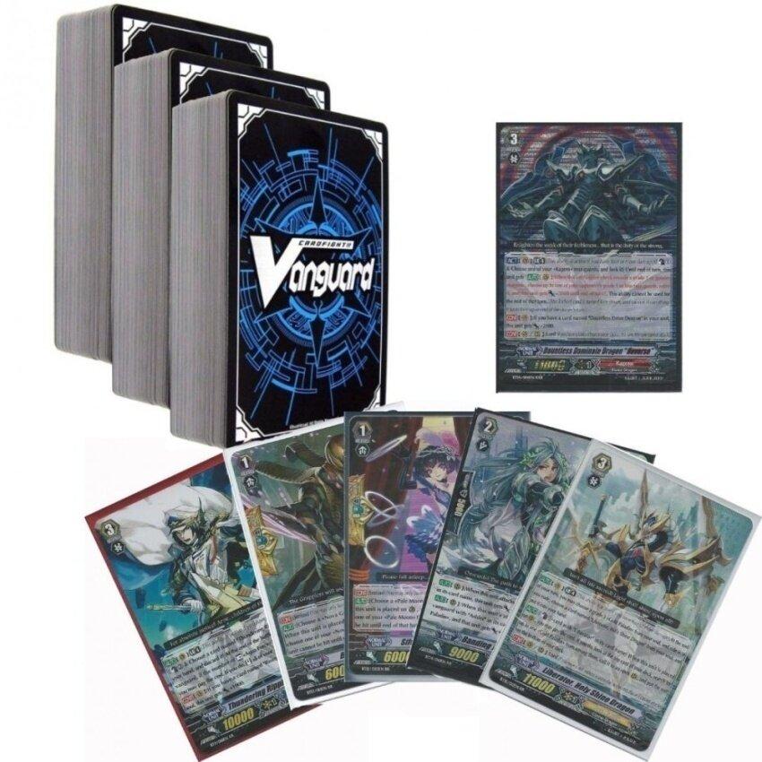 Cardfight Vanguard 200 Cards No Duplicates w/ 9x RR. 1x RRRNODUPLICATES AT ALL - intl