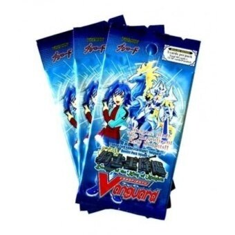 Cardfight Vanguard ENGLISH VGEBT01 Descent of the King of Knights SET OF 3 Booster Packs - intl
