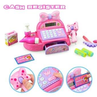 Cash Register ของเล่นเด็ก เครื่องแคชเชียร์ คิดเลขได้จริง เล่นสนุก เสริมสร้างจินตนาการ