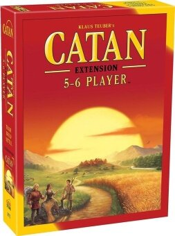 Catan Board Game extension for 5-6 players English Version - intl