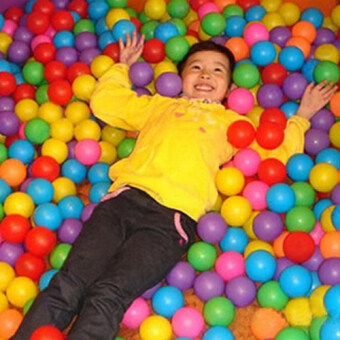 Harga Children Developmental Toy ball Soft Swim Ball Pits (Multicolor) -intl