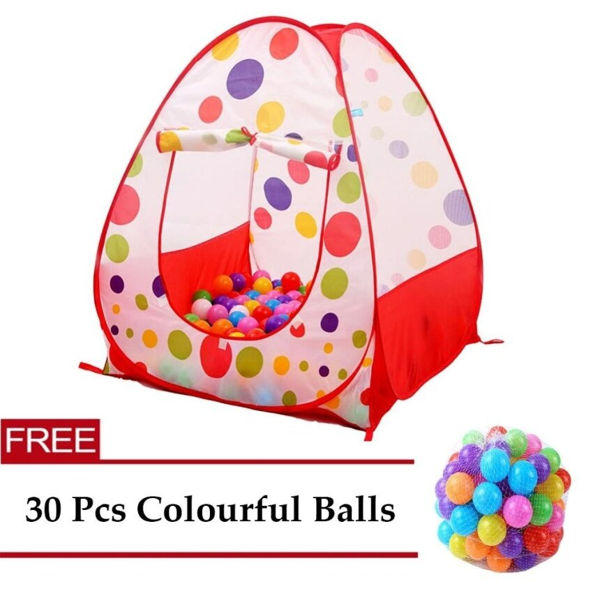 Children Play Pool Kids Indoor Outdoor Ball Pit House Large Portable Ocean Balls Garden House - intl