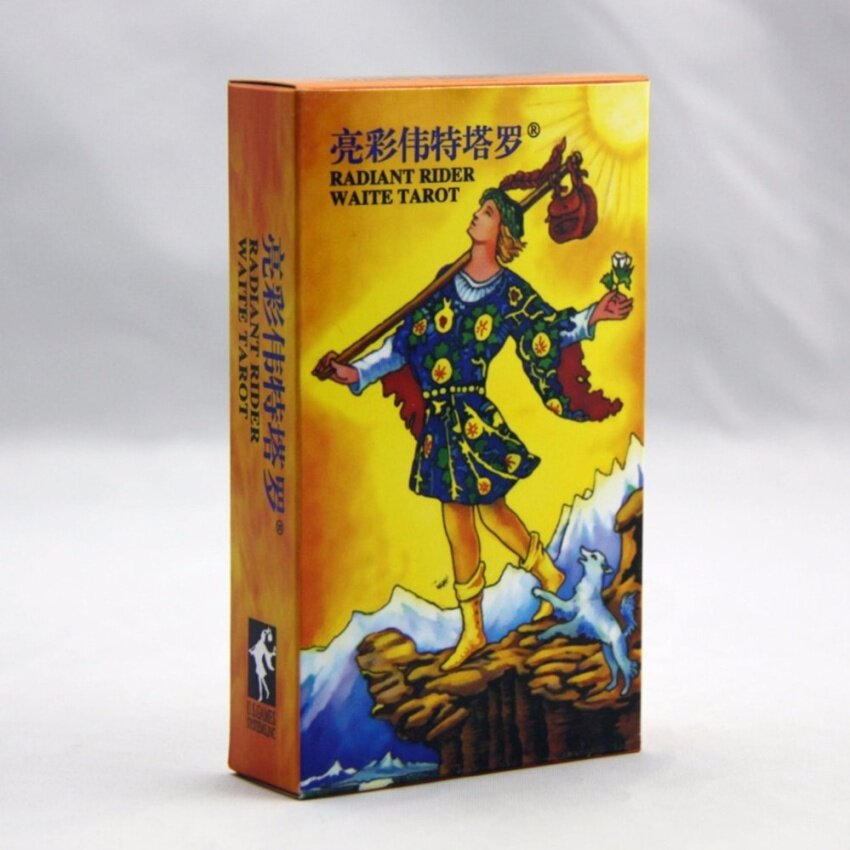 Classic Tarot Board Game 78 PCS/Set Boxed Playing Card Tarot Board Game For Family Friends - intl