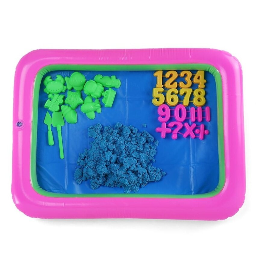 Colorful Number Mold Space Sand Amazing Toy for Children - intl