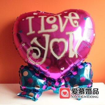 ทารกรัก Cooljie จัดงานแต่งงานวันเกิดลูกโป่งตกแต่งลูกโป่งอลูมิเนียม
