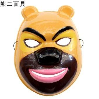 Cos ฮาโลวีนประสิทธิภาพนิเมชั่นหัวล้านหน้ากาก