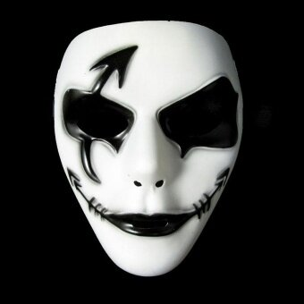 Creepy Ghost Dancer Face Mask Fancy Dress Costume Halloween PartyDress - Masks - intl