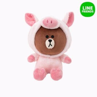 Harga CUDDLE DOLL 25CM_PIGGY BROWN_JUNGLE BROW