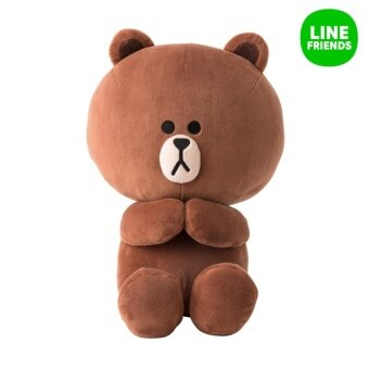 Harga CUDDLE DOLL 28cm SEASON 4_BROWN