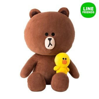 Harga CUDDLE DOLL 40cm SEASON 4_BROWN