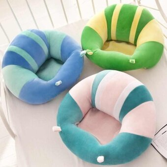 Cute Baby Support Seat Soft Chair Pillow Cushion Sofa For 0-2 YearPlush Toys - intl