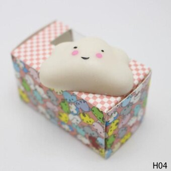 Cute Soft Squishy Soft Rubber Squishy Toy Reduce Pressure SqueezeFidget Toy H04 - intl