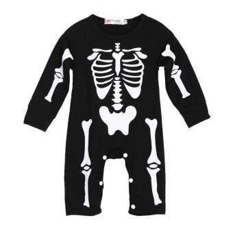 Decoration Newborn Long sleeve Halloween Costume Printed CoverallBodysuit Climbing clothes