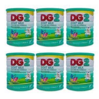 DG-2 อาหารทารกนมแพะสูตรต่อเนื่อง 800 กรัม x 6 กระป๋อง