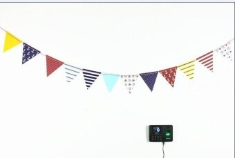 Diotem Fashion Party Dress Up Item Birthday Flag Banner BannerBanner Decoration Navy Wind Triangle Flag - intl
