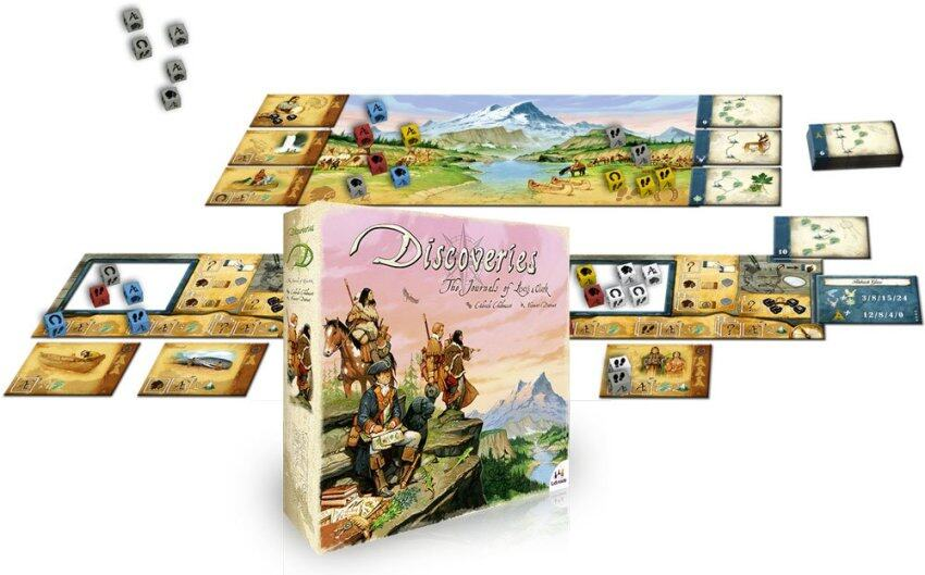 Discoveries 2015 Edition Board Game