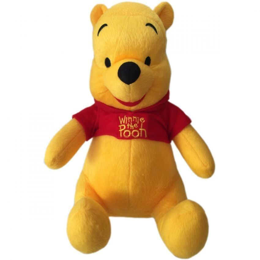 Disney ตุ๊กตาหมีPooh 24นิ้ว - Yellow