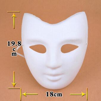 DIY ว่างเปล่า Peking Opera เยื่อผู้ชายและผู้หญิงหน้ากากหน้ากาก