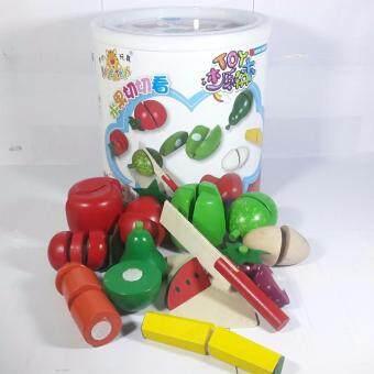 DM toys ของเล่นเสริมพัฒนาการ ของเล่นชุดหั่นผัก
