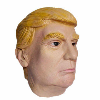 Harga Donald Trump Mask Silicone Primary USA Selection PresidentialCosplay Yellow