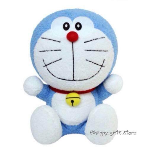 ขาย Doraemon ตุ๊กตา โดเรม่อน นั่งยิ้ม 16 (สีฟ้า)