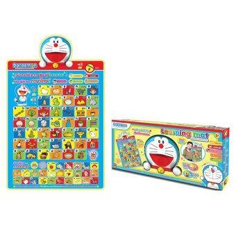 Doraemon Learning Mat แผ่นดนตรีและการเรียนรู้ 2 ภาษา