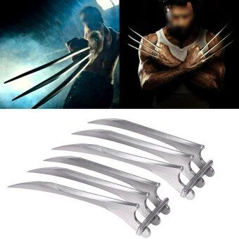 Harga Durable Plastic Wolverine Claws Wolf Paw Cosplay Prop Toy - intl